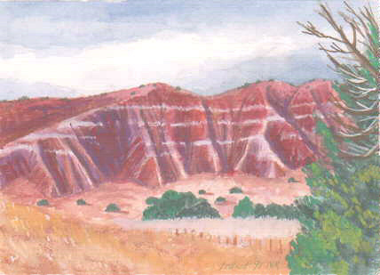 PAINTING OF EROSION