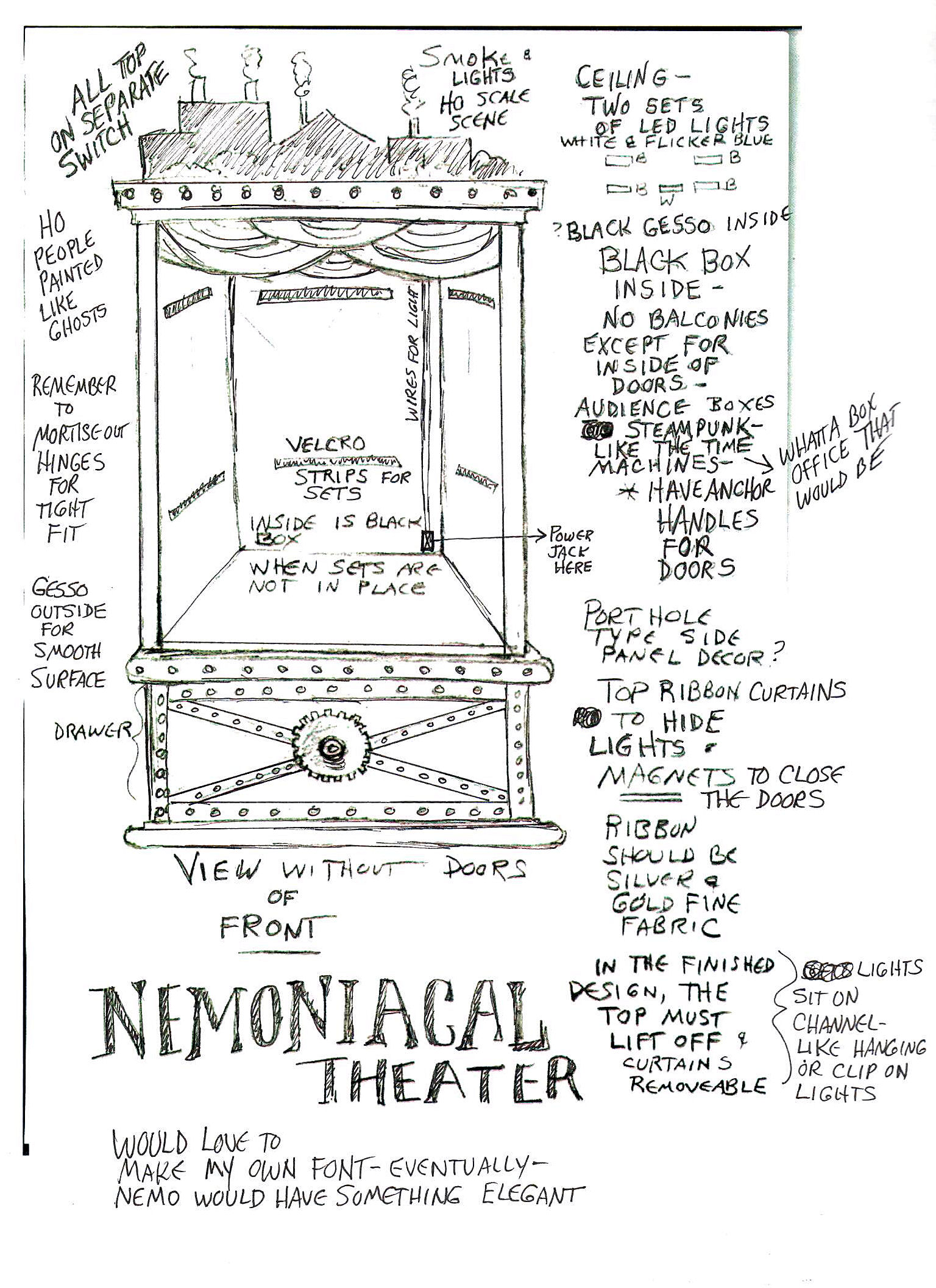 NEMOniacal Front View